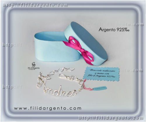 Bracciale-Andrea-Argento-925